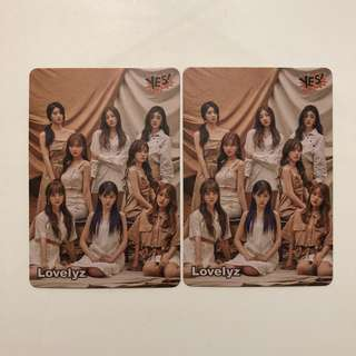 Lovelyz Yes! Card 第37期 白卡