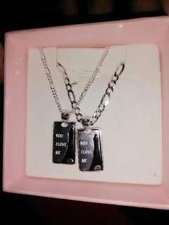 Sale! Couple necklace pendant