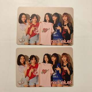 Red Velvet Yes! Card 第37期 白卡