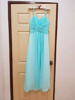 Tiffany Blue Gown Dress