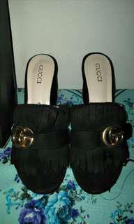 Gucci premium block heels #mauiphonex