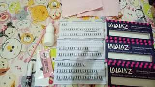 Eyelash extension / tanam bulu mata/extension bulu mata