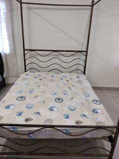 Wrought iron Queen size bed