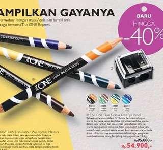 Pensil alis dua warna (oriflame)