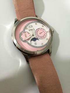 Titus pink watch