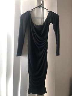 Tight over the shoulder dress