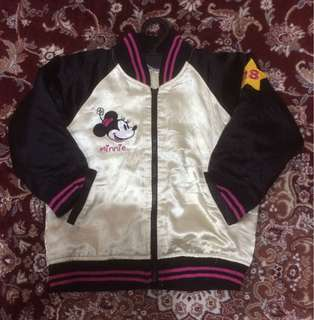 Sukajan Disney Minnie Mouse Authentic