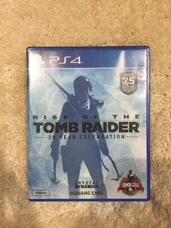 Authentic PS4 Rise of the Tomb Raider