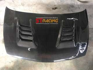 Honda Civic FD Js Racing Hood CF