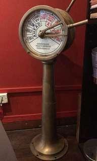 Sailor engine valve control vintage item