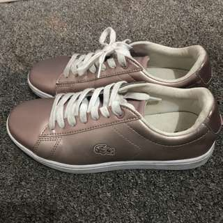 LACOSTE PEARL PINK SNEAKERS