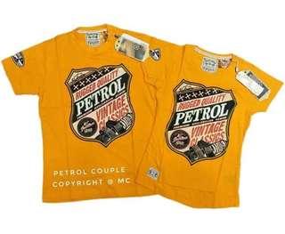 Petrol overruns shirt