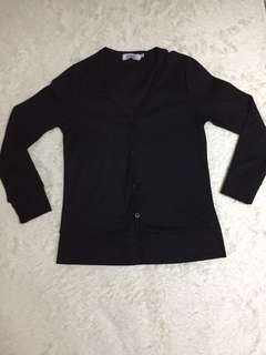 PRE❤️ BLACK KNITTED CARDIGAN