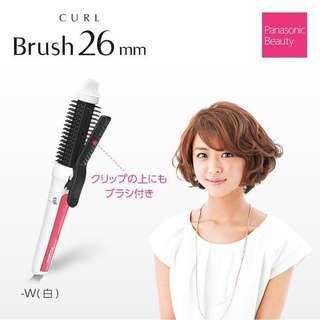 🇯🇵 日本Panasonic 國際牌 EH-HT43 造型捲髮器 電棒梳 電捲梳 26mm 現貨