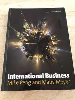 International Business (Mike Peng & Klaus Meyer)
