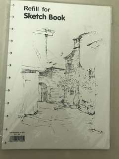 Lyra sketch book refill