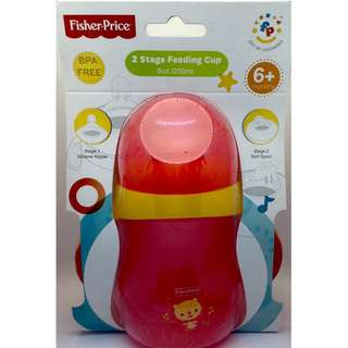 FISHER PRICE 2 stage FEEDING CUP BPA FREE