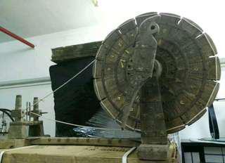 🈹古董 紡織機 可遇不可求