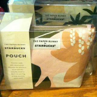 Starbucks the paper bunny pouch singapore