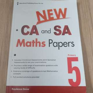 P5 math assessment CA and SA papers