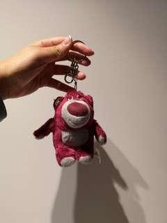 Lotso disneyland hongkong keychain