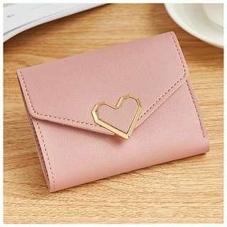 Love Logo Short Purse Wallet