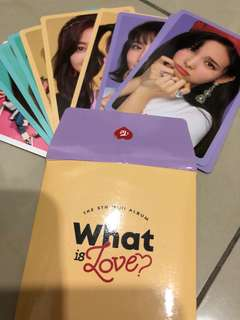 What Is Love Preorder Benefit Set
