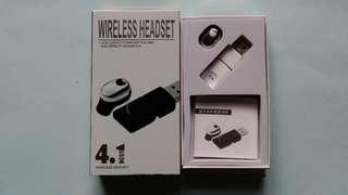 4.1無線耳機(白色)