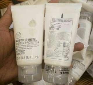 the body shop moisture shiso uv protector