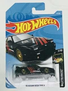 Hotwheels 96' Nissan 180sx type X