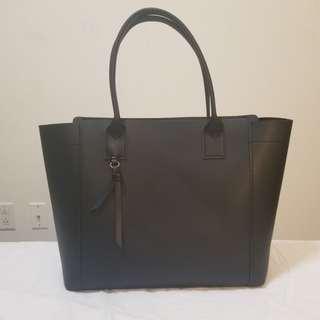 Black matte Hand bag