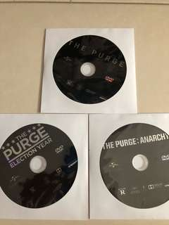 The purge trilogy (dvd)