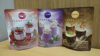 Puding Creamy Panna Cotta free cetakan puding