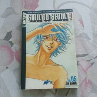 Soul to Seoul Comic Book