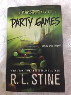 R.L.Stine horror novel