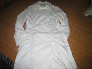 Hill TOP 山頂鳥 白色系風衣外套