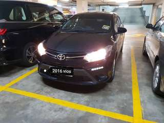SAMBUNG BAYAR/CONTINUE LOAN  TOYOTA VIOS 1.5 AUTO YEAR 2016 MONTHLY RM 840 BALANCE 4 YEARS 11 MONTHS ROADTAX MAY 2019 RADIO TOUCH SCREEN TIPTOP CONDITION  DP KLIK wasap.my/60133524312/vios