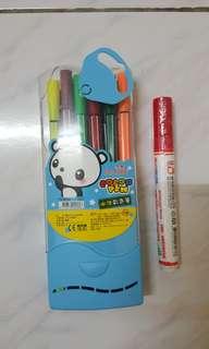 🚚 彩色筆及白板筆