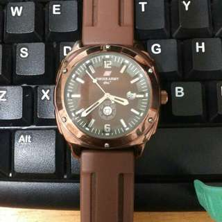 Jam tangan unisex Swiss Army preloved bekas