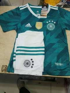 JERSEY BOLA JERMAN AWAY KIDS WORLD CUP 2018 GRADE ORI