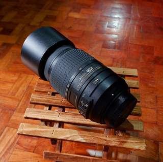 Nikon 55-300mm f/4.5-5.6G ED zoom lens