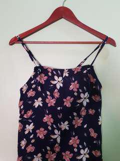 Loose Floral Dress