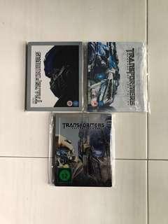 Transformers 1-3 (Blu Ray Steelbook)