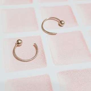 🚚 簡約設計感耳環/耳釘