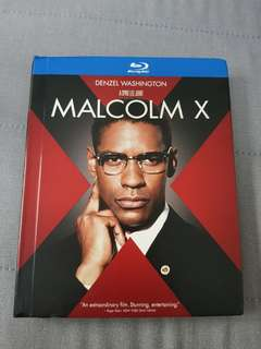 Malcom X Bluray and bonus dvd