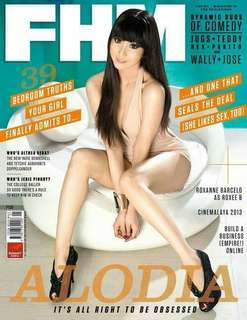 Fhm July 2013 Alodia