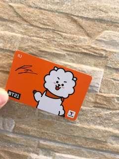 RJ 交通卡 (t-money)