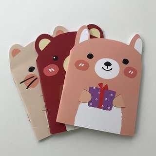 Notebook (set of 3) Children's Day Gift