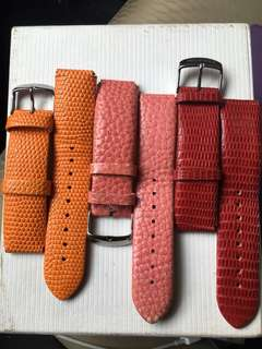 Philip Stein Leather Straps