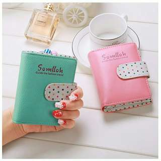 Somlloh Short Purse Wallet